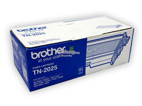 Original Genuine BROTHER TN2025 / TN 2025 PRINTER FAX TONER Cartridge