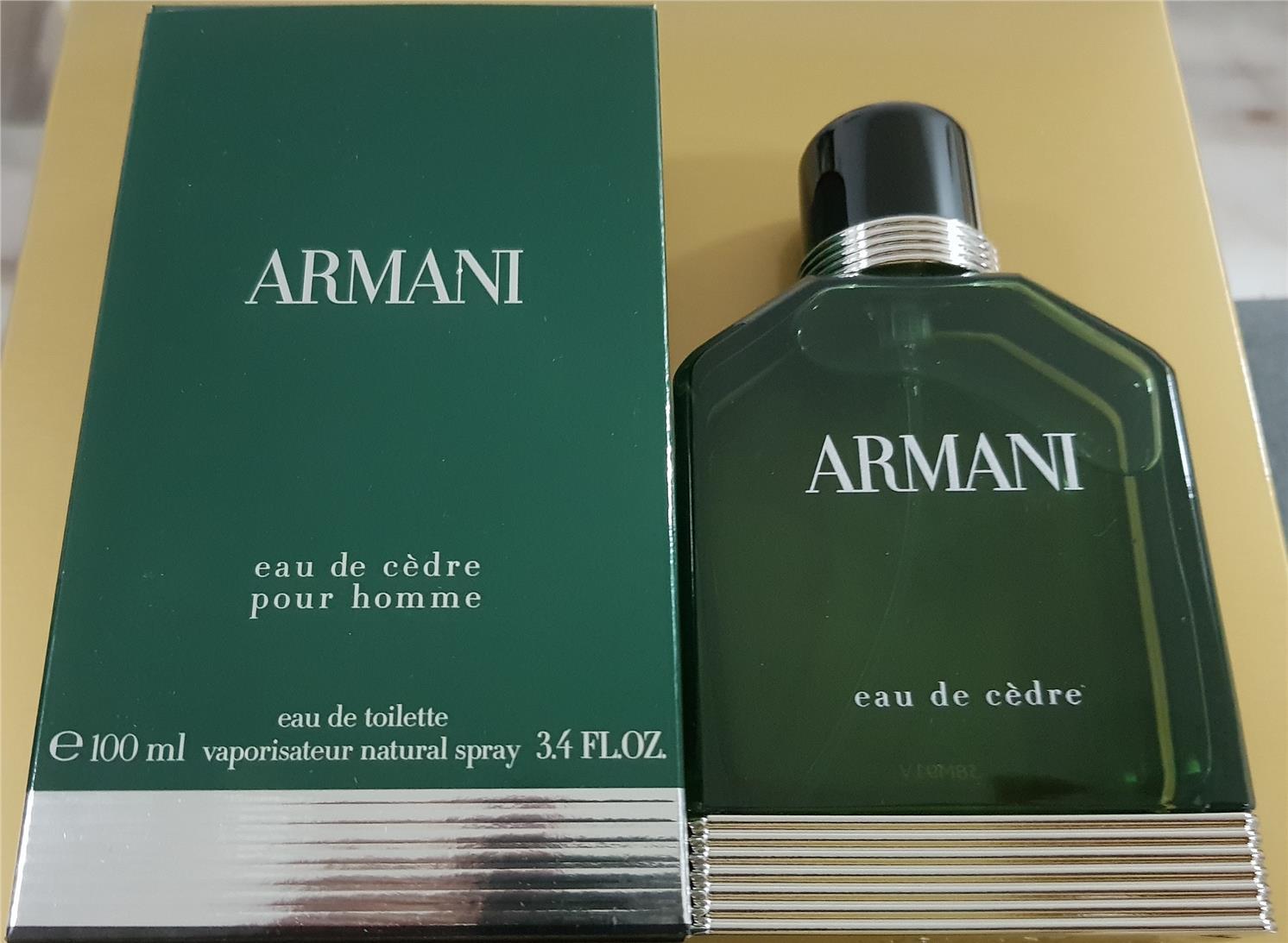 ORIGINAL Giorgio Armani Eau De Cedre 100ml EDT Tester Perfume. ‹ › 05d770eedf3d