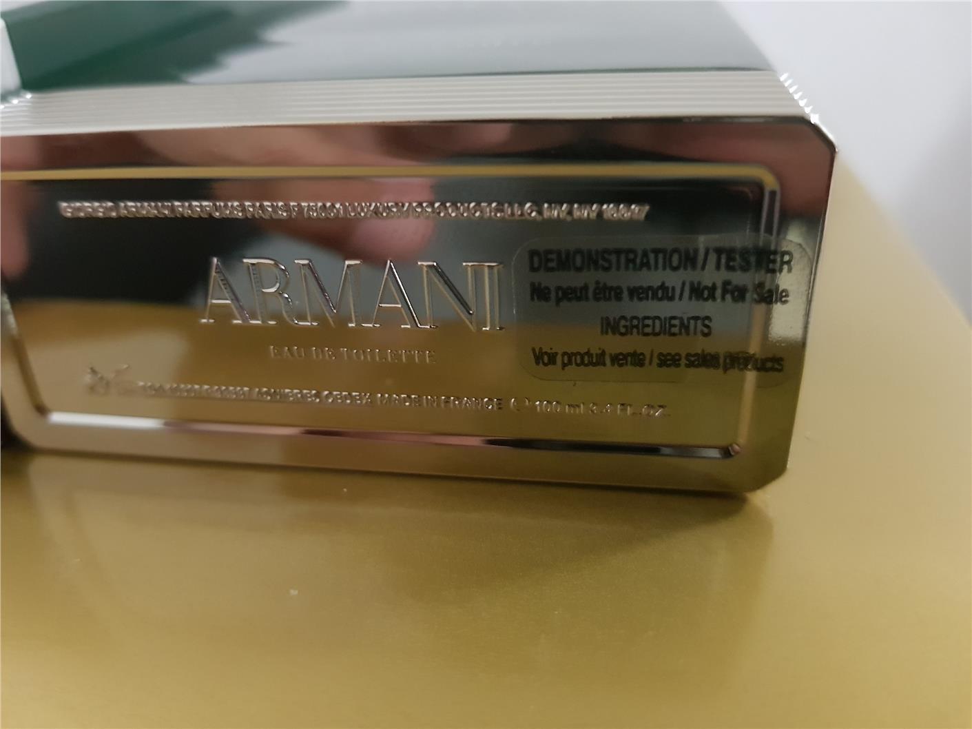 ORIGINAL Giorgio Armani Eau De Cedre 100ml EDT Tester Perfume 65364c530436
