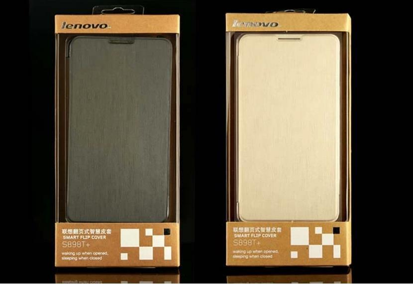 Original Golden Warrior Lenovo S8 S898T+ MTK6592 Flip Case Cover