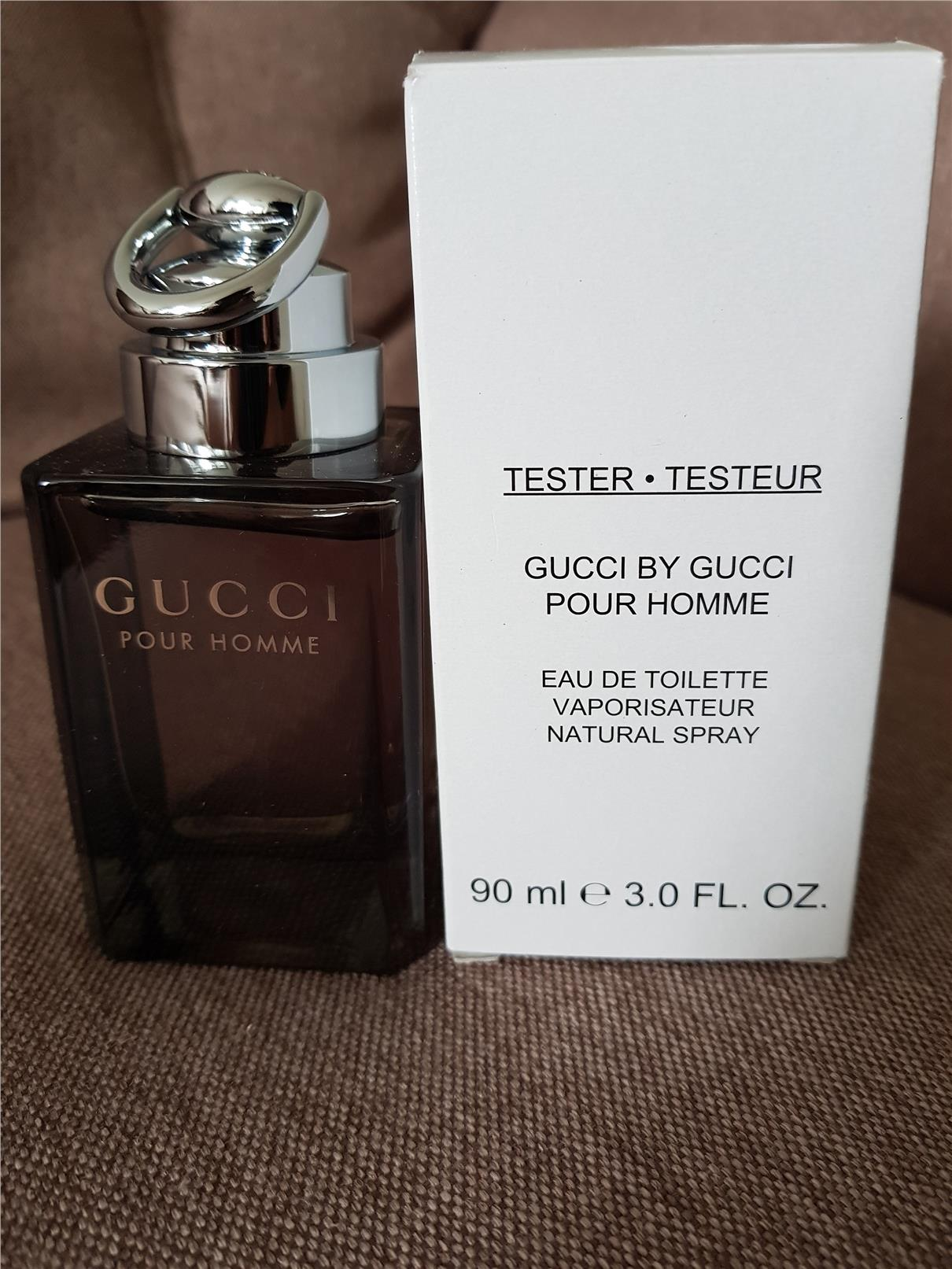 09b212c35556 ORIGINAL Gucci By Gucci pour Homme 90ml EDT Tester Perfume. ‹ ›
