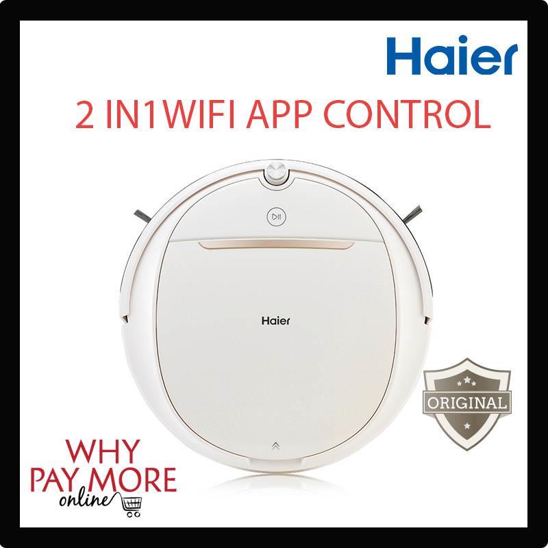 Original Haier Smart Wireless Wifi Sweeping Mop Robot Vacuum Cleaner