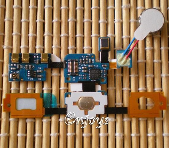 ORIGINAL Home Keypad Flex Cable Ribbon Samsung I9000 Galaxy S ~Vibrate