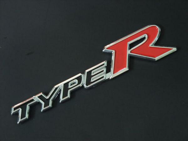 ORIGINAL HONDA CIVIC FD2R TYPE R Wording Logo Emblem Made In Japan