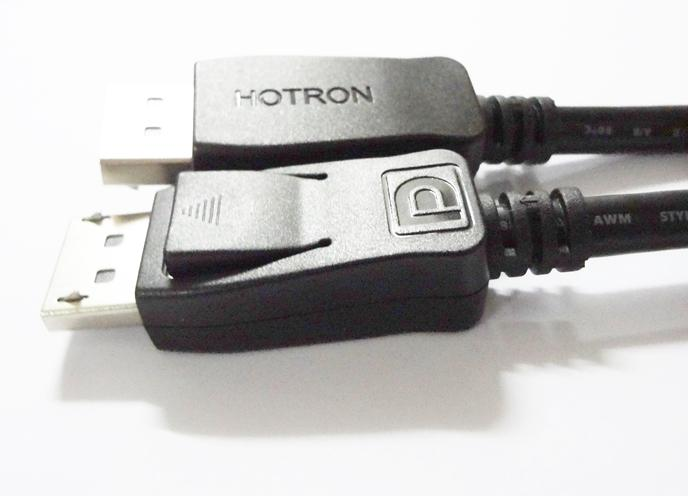 Original Hotron 1.8M Display Port DP Male to Male Cable