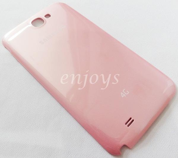 ORIGINAL HOUSING Battery Cover Samsung Galaxy Note 2 4G N7105 ~PINK