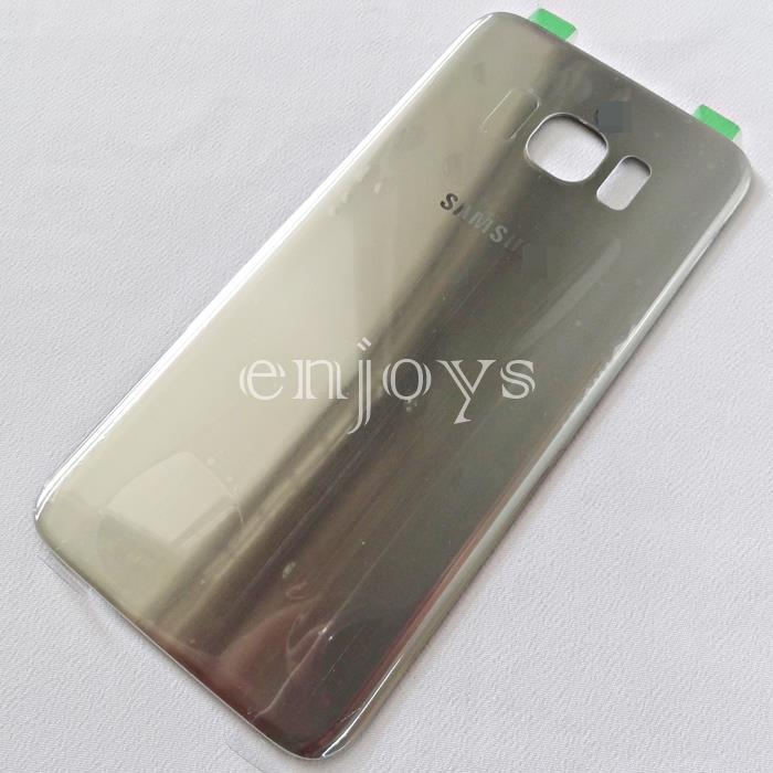 ORIGINAL HOUSING Battery Cover Samsung Galaxy S7 Edge / G935FD ~SILVER