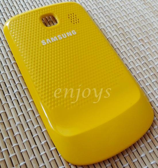 ORIGINAL HOUSING Back Battery Cover Samsung S3850 Corby II 2 ~YELLOW