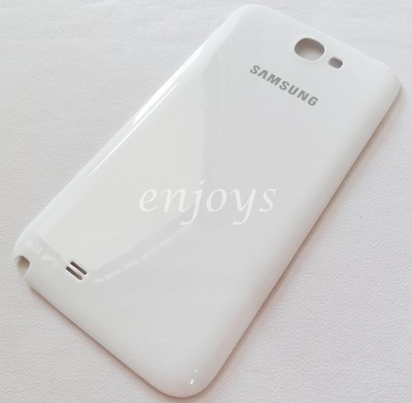 ORIGINAL HOUSING NFC Battery Cover Samsung Galaxy Note 2 N7100 ~WHITE