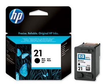 Original HP 21 ( C9351AA ) Black Ink Cartridge