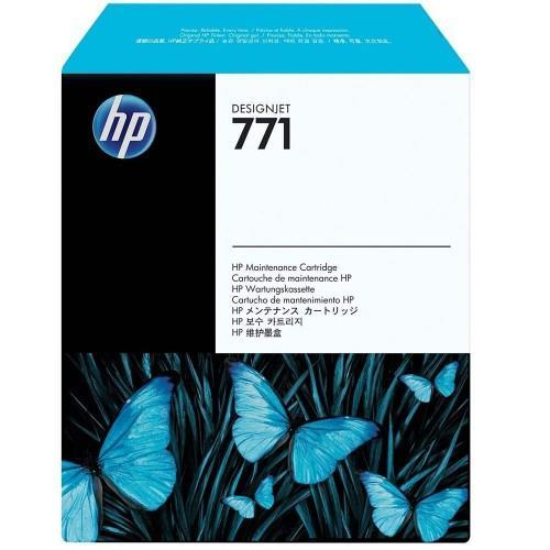 Original HP 771 DesignJet Maintenance Cartridge (CH644A)