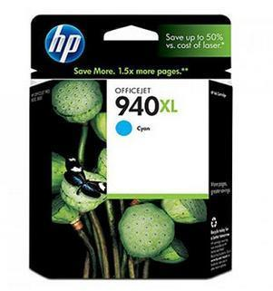 Original HP 940XL (C4907AA 940 XL ) Cyan Ink Cartridge