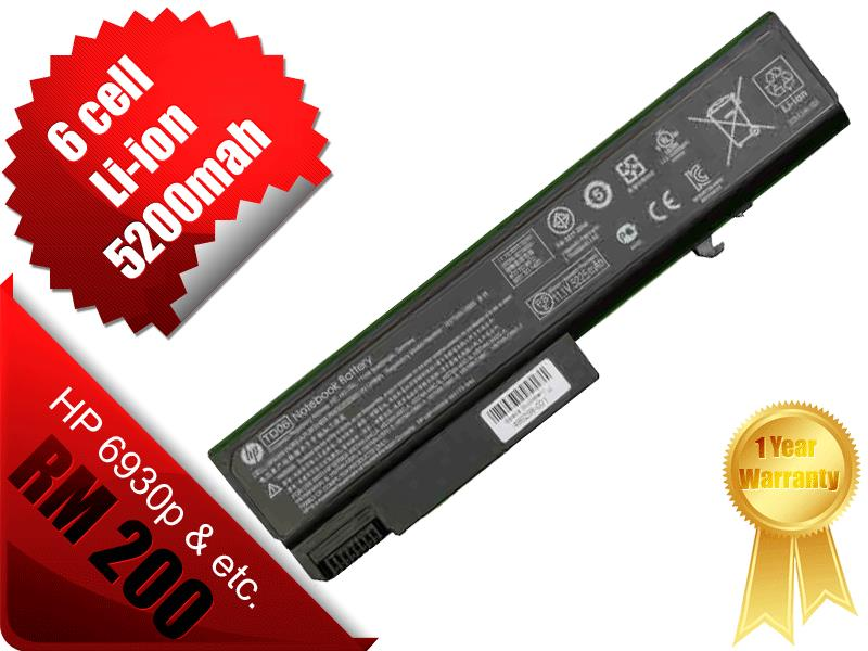 NEW ORIGINAL HP EliteBook 6930P 8440P  ProBook 6440b 6540b BATTERY