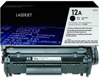 [ORIGINAL]HP Q2612A(12A)BLACK TONER INK CARTRIDGE