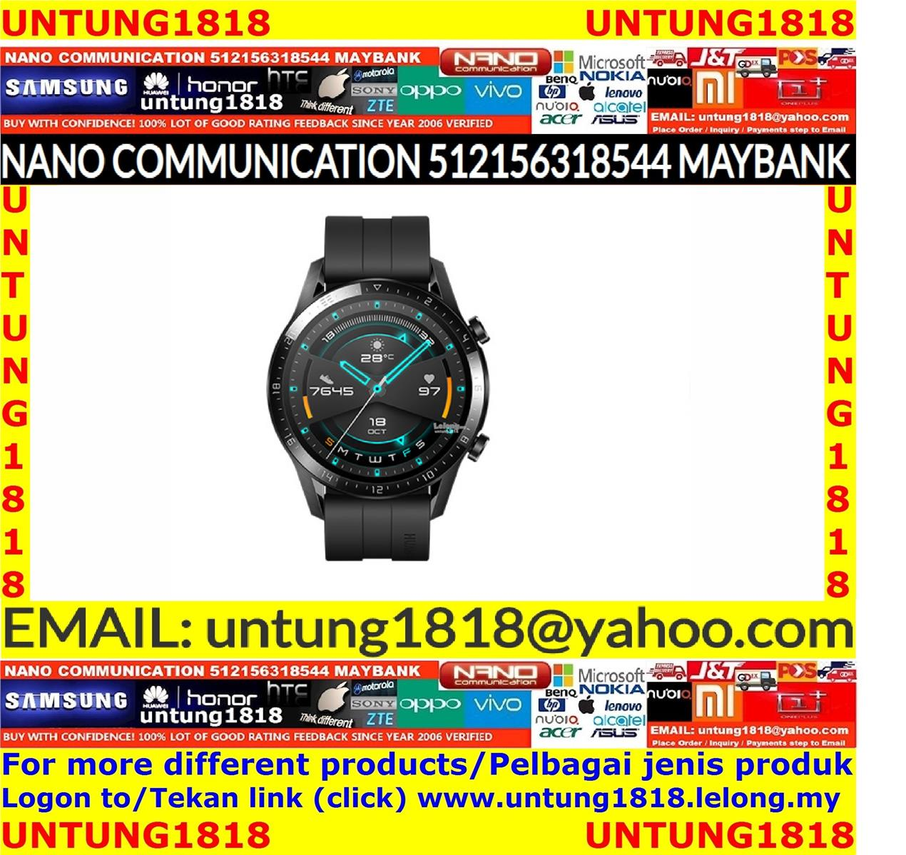 Original by Huawei Malaysia.Huawei Watch GT 2 46mm