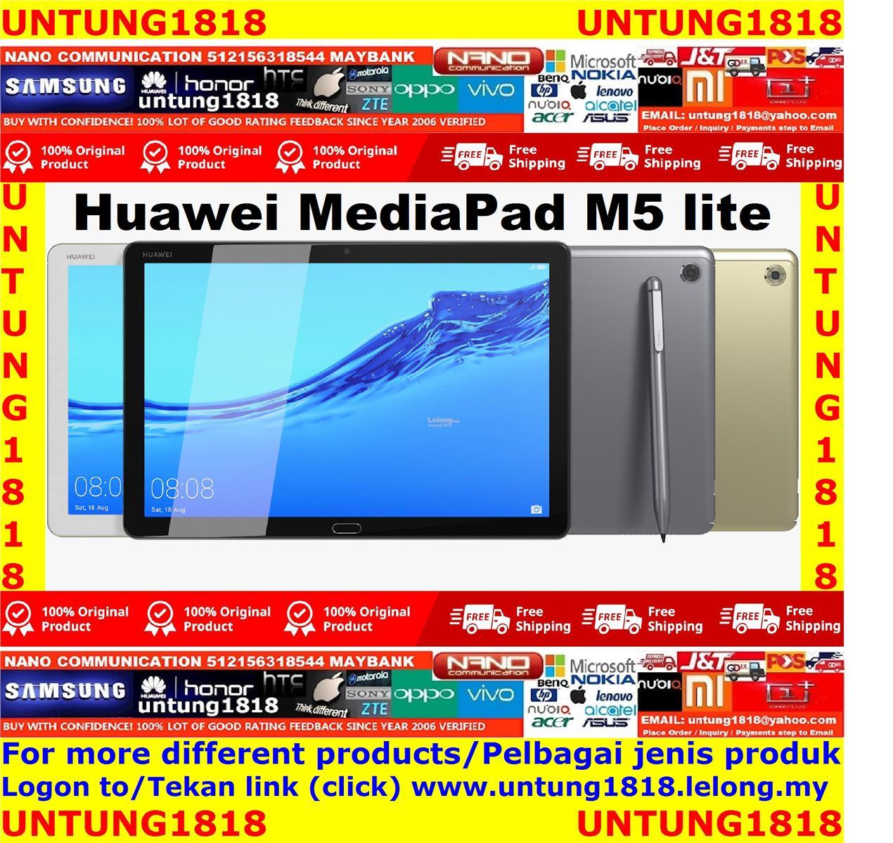 ORIGINAL.Huawei MediaPad M5 lite 10.1inch More Choice