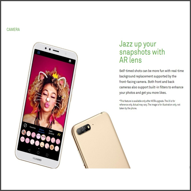 Original Huawei Y6 2018