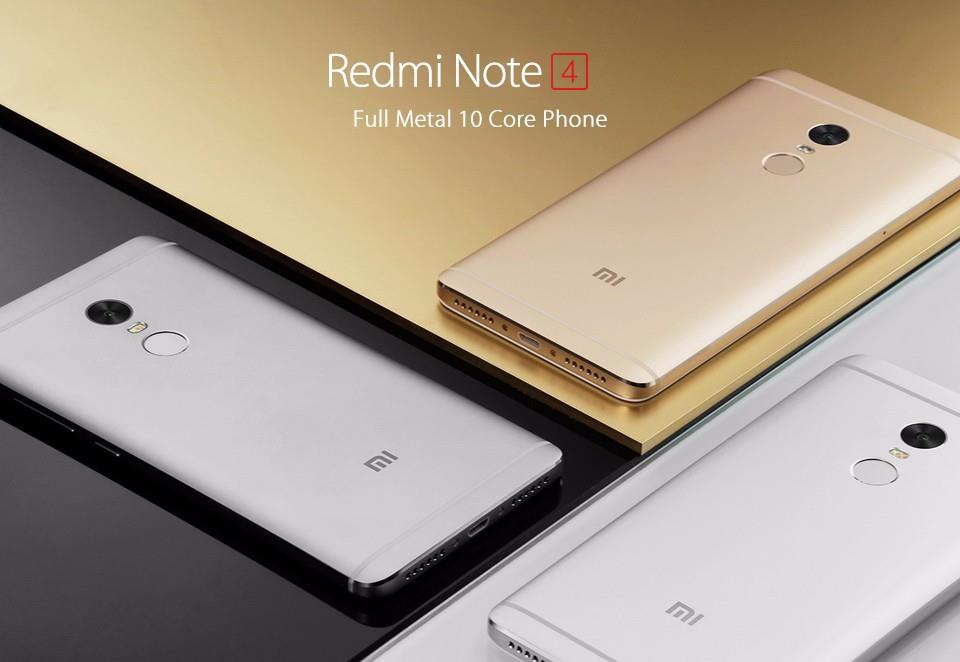 (Original Import) Xiaomi Redmi Note 4 32gb/64gb with Global Rom