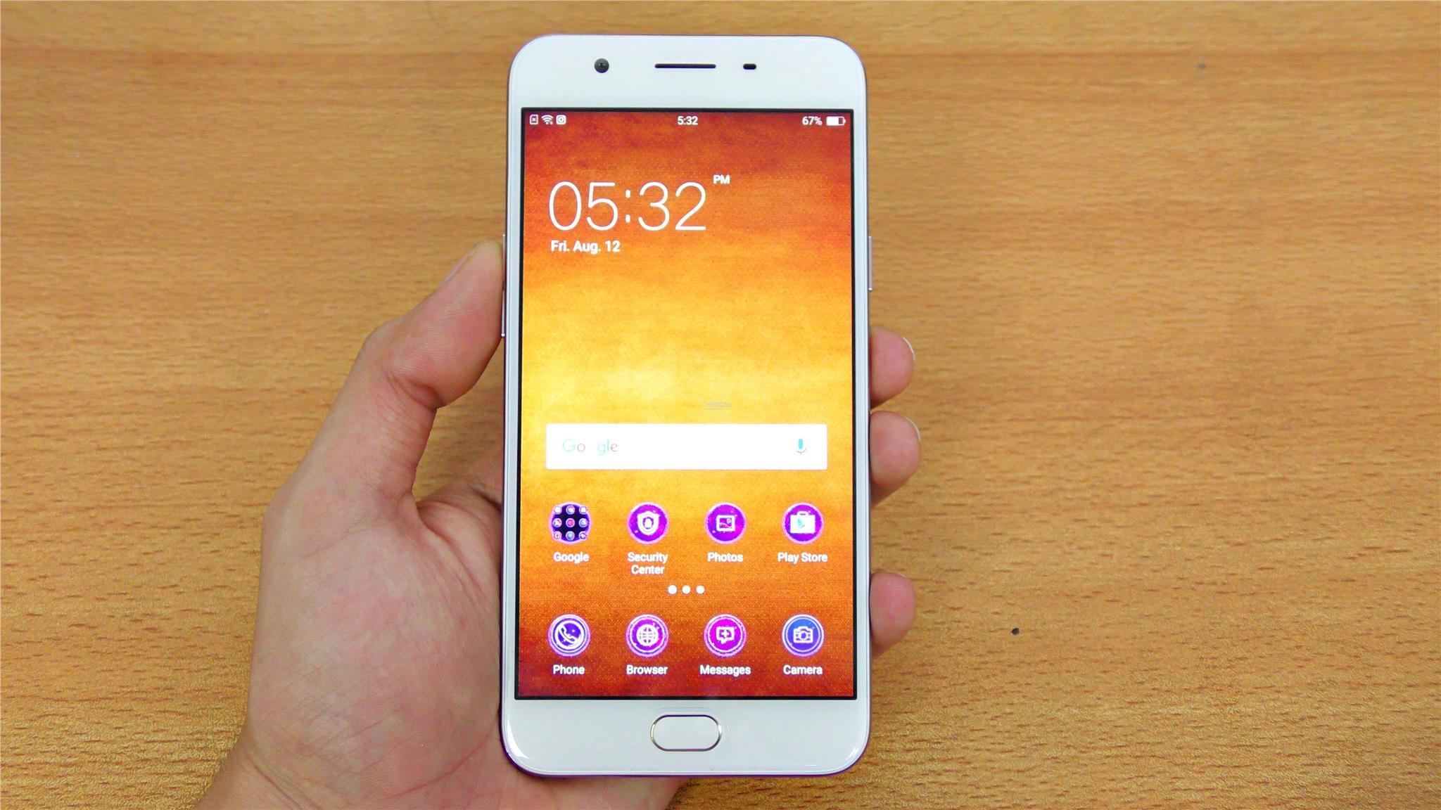 [Original Imported Set] OPPO F1s 3 32GB Selfie Expert Smartphone