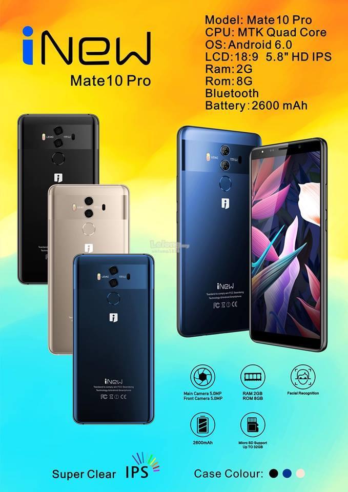 ORIGINAL iNew Mate 20 Pro Mate 10 Pro Android Smartphone