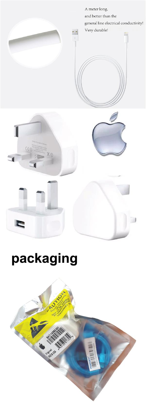 ORIGINAL IOS USB Power Adapter Charger IPhone Fast Speed Charging
