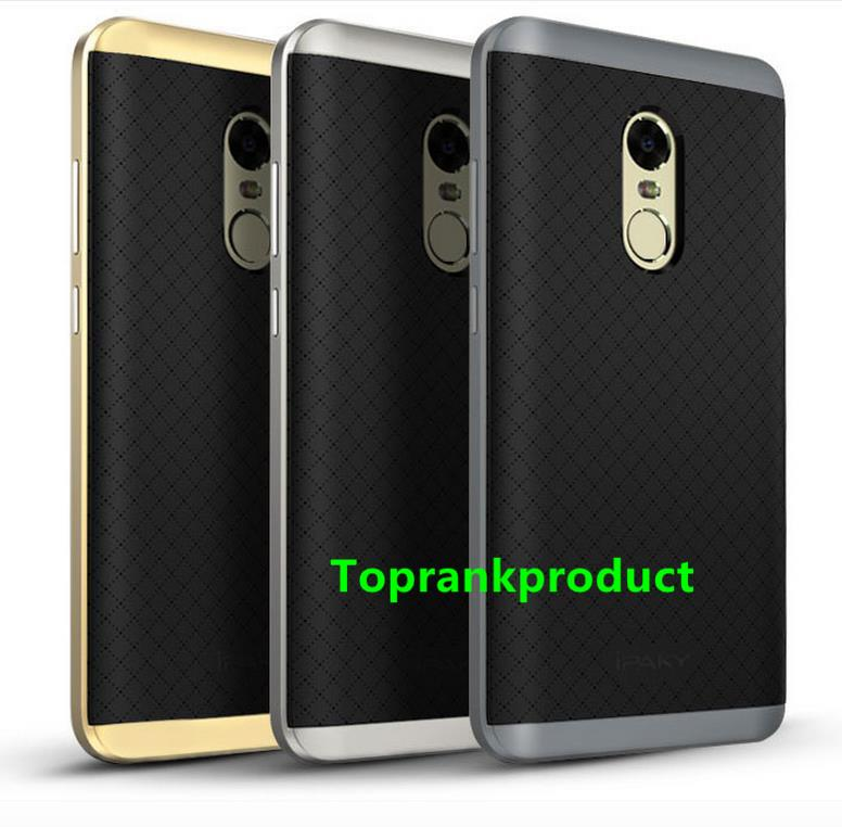 finest selection 4f12b f1187 Original iPaky Xiaomi Redmi Note 4 Neo Hybrid Armor Case Cover Casing