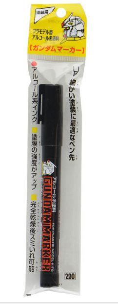 Original Japan GSI Creos Mr Hobby Gundam Marker Black GM10