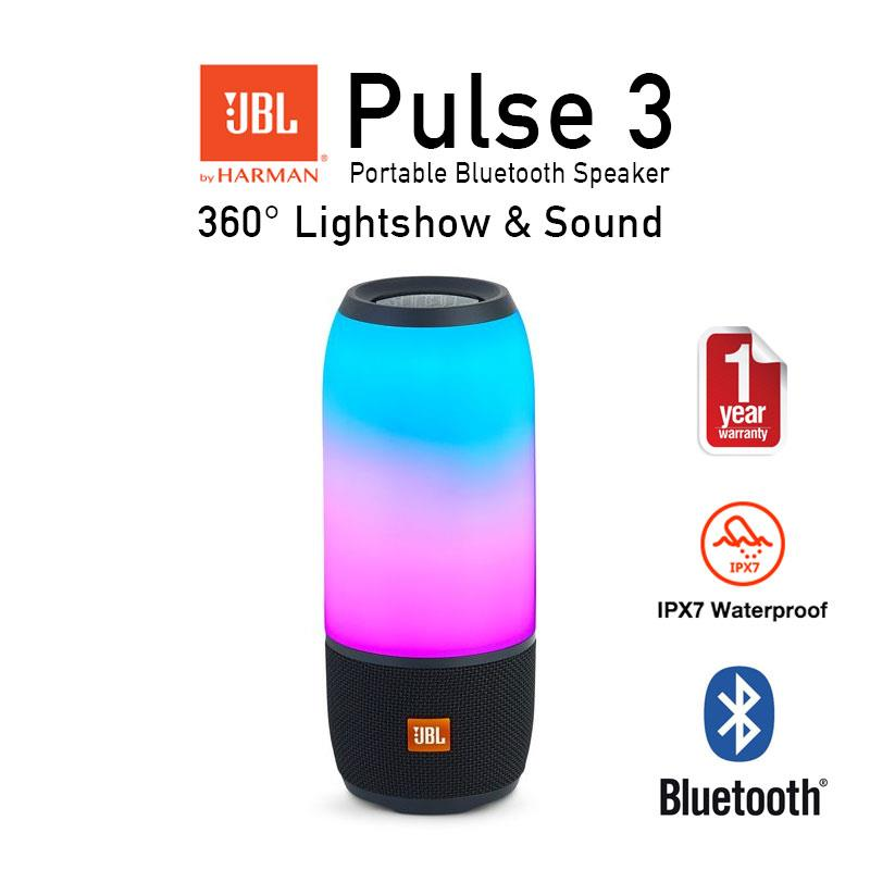 Original jbl pulse 3 wireless waterp end 9 22 2018 9 15 pm for Housse jbl pulse 3