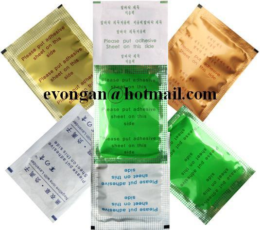 Original Jun Gong Green Detox Foot Patch - Free Gift & Postage