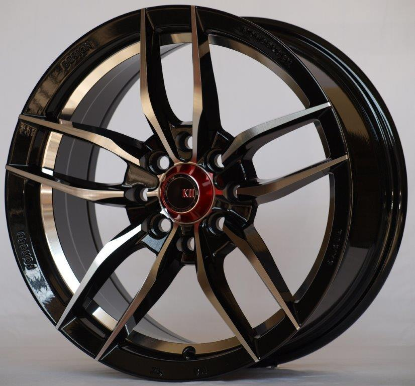 New Original K-II Rim 15Inch For Myvi Jazz Vios Swift Saga Almera