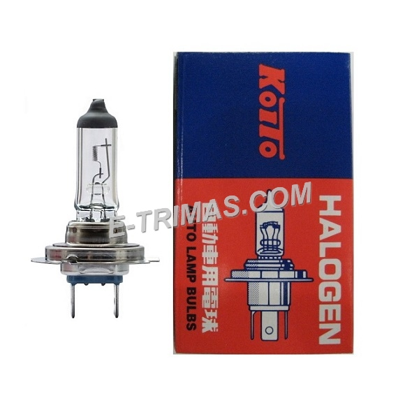 ORIGINAL Koito-0701 Made In Japan H7 55W 12V Car Headlight Bulb Lamp