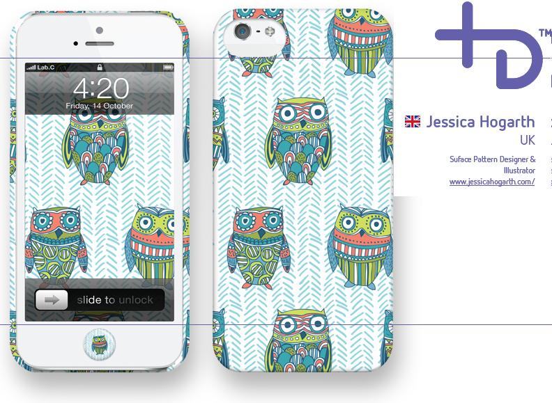 Original LAB C iPhone 5/5s casing Owl's Design