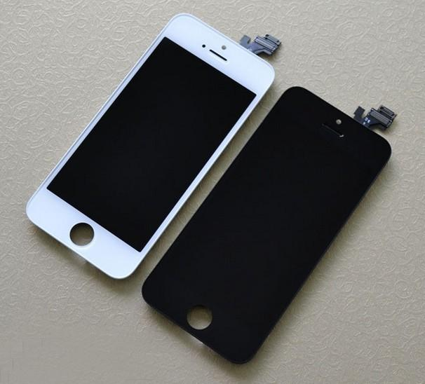 ORIGINAL LCD Display Screen Set w/ Digitizer Apple iPhone 5 ~WHT /BLK