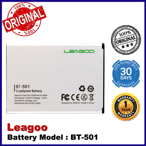 Original Leagoo BT-501 Leagoo Alfa 5 Battery