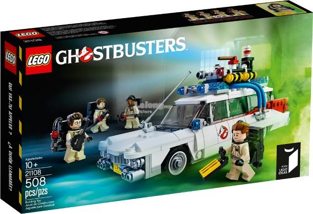 Original Lego 21108 ghost busters ecto 1 New MISB