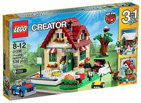 Original LEGO 31038 Creator Changing Seasons New MISB
