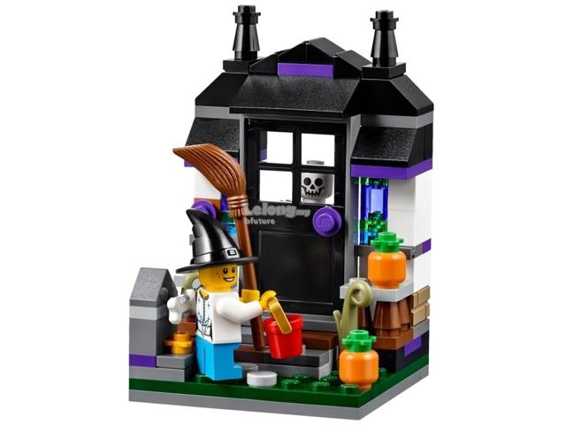 Lego Halloween Sets 2019.Original Lego 40122 Seasonal Trick Or Treat Halloween Set New Misb