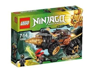 Original LEGO 70502 Ninjago Cole's Earth Driller New MISB