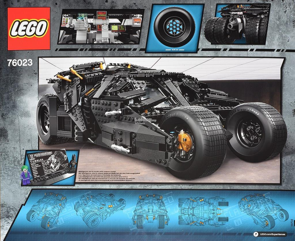 Original Lego 76023 Super Heroes The Tumbler New MISB