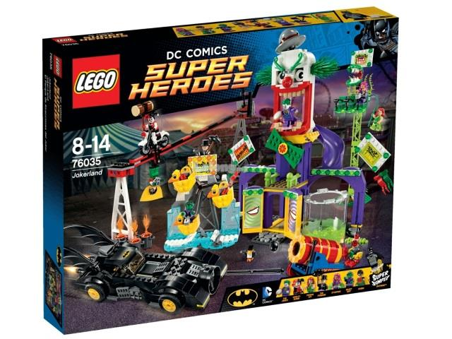 Original LEGO 76035 DC Super Heroes Jokerland New MISB