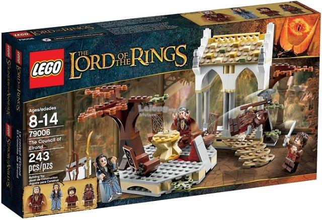 Original Lego 79006 TheLordofTheRings The Council of Elrond New Sealed