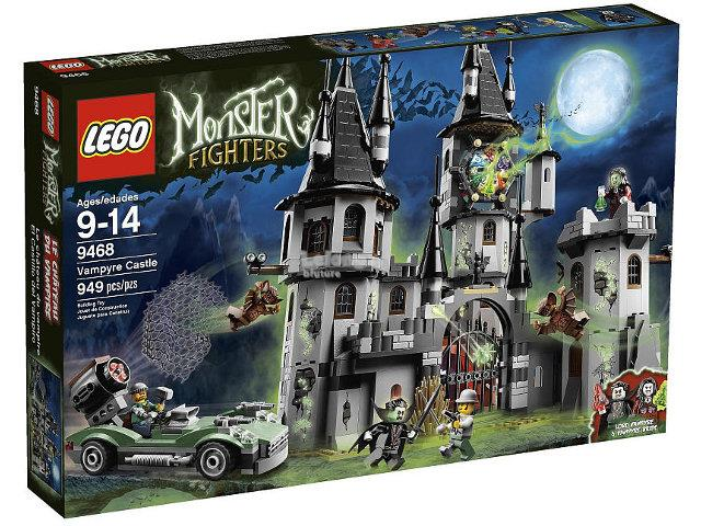 Original LEGO 9468 Monster Fighters The Vampyre Castle New MISB