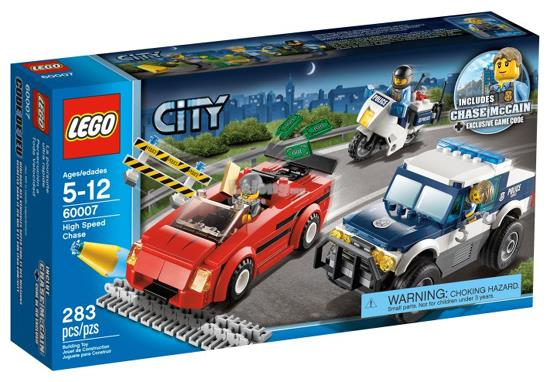 Original LEGO City 60007 High Speed Chase New Sealed