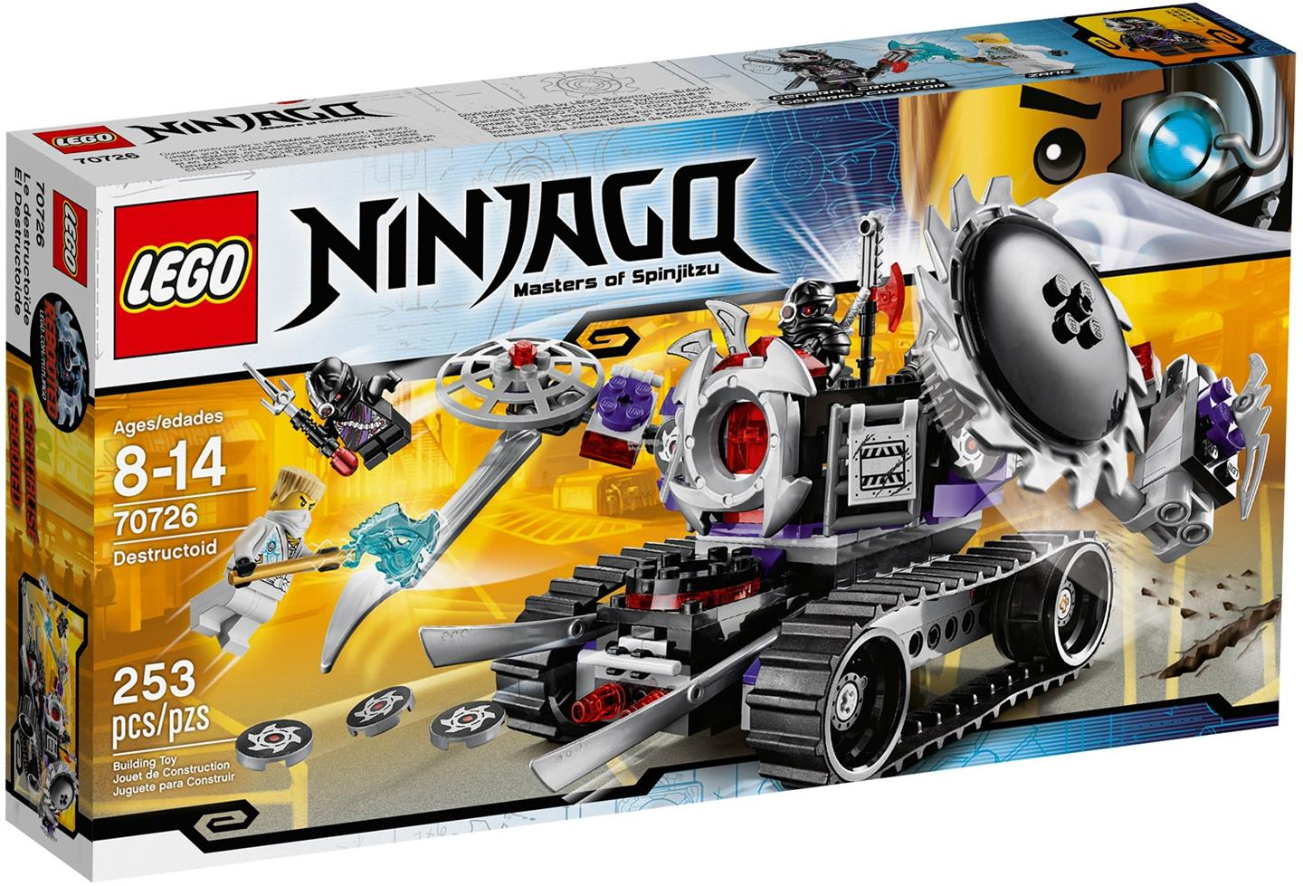 Original Lego NinjaGo 70726 Destructoid New MISB