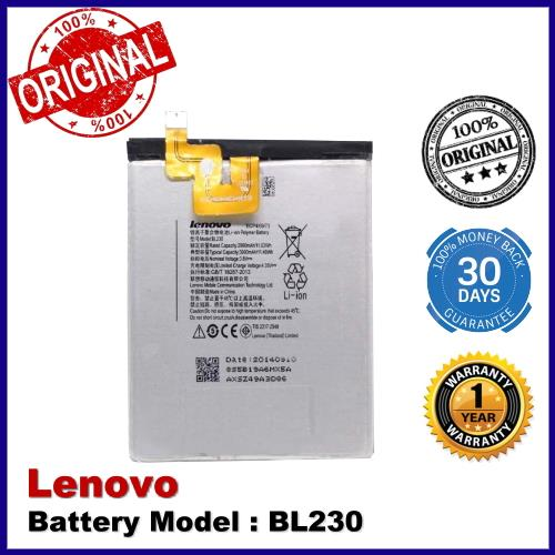 Original Lenovo Z2W / Z2T / Z2 BL230 Battery