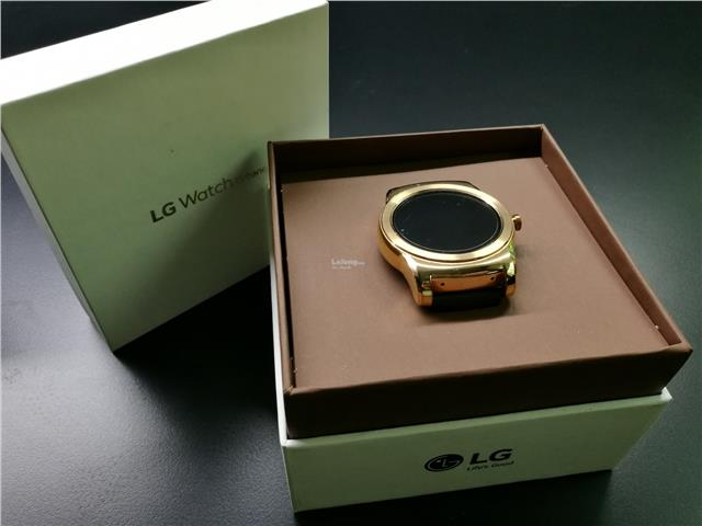 Original LG Urbane W150 Waerable Android Smart Watch (Gold)