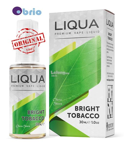 *ORIGINAL* LIQUA Bright 30ml eLiquid Vapor Vape eJuice