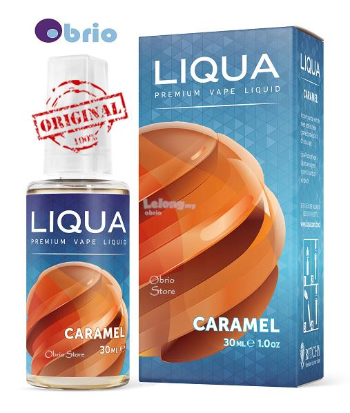 *ORIGINAL* LIQUA Caramel 30ml eLiquid Vapor Vape eJuice