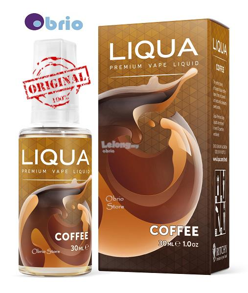 *ORIGINAL* LIQUA Coffee 30ml eLiquid Vapor Vape eJuice