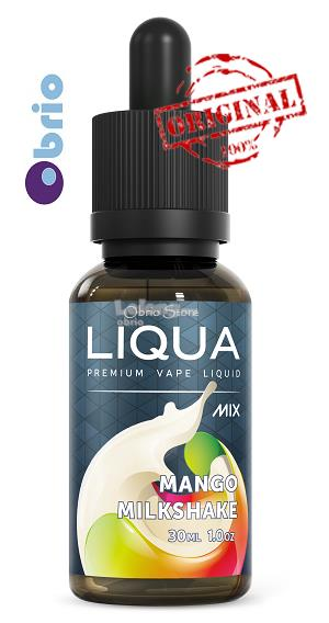 *ORIGINAL* LIQUA Mix Mango Milkshake 30ml eLiquid Vapor Vape eJuice
